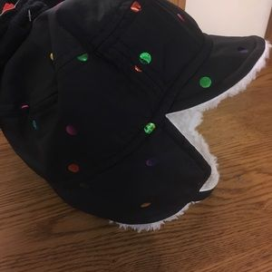 New  Cat & Jack Toddler Hat and mitten set